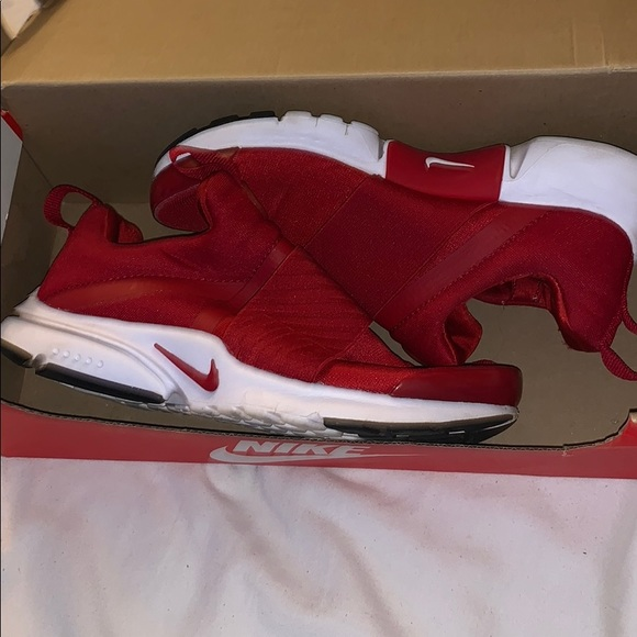 Nike Shoes   Presto Extreme Gs Gym Red
